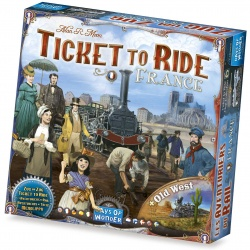 Ticket to ride France / old west