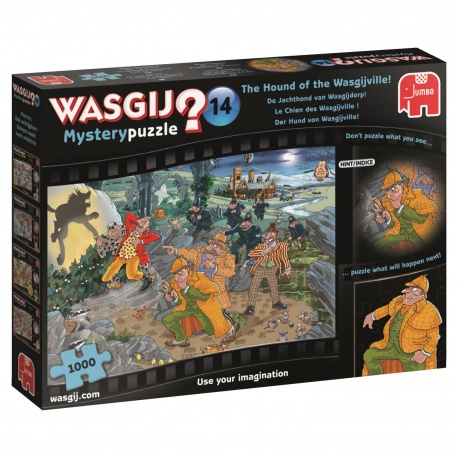 Wasgij Mystery 14 de Jachthond 1000 stukjes 19158