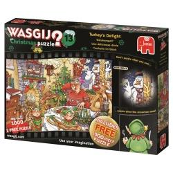 Wasgij Christmas 13 Geluksvogel 2x1000stukjes