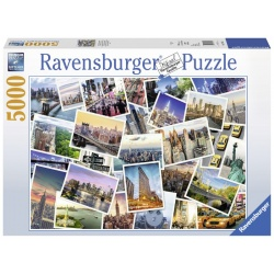Ravensburger New York, the city never sleeps, 5000stukjes