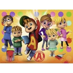 Alvin en zijn vrienden 150 stukjes Ravensburger
