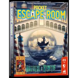 Pocket Escape Room - kaartspel diefstal in Venetie