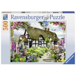 Idyllische cottage 500stukjes Ravensburger