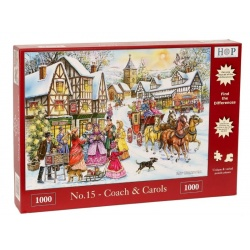 No. 15 - Coach & Carols, House of Puzzles 1000 stukjes