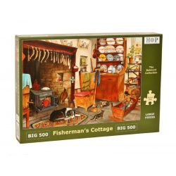 Fisherman's Cottage, Hop Puzzels 500 XL stukjes