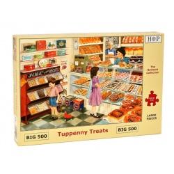 Tuppenny Treats, Hop Puzzels 500 XL stukjes