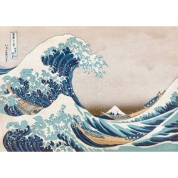 The Great Wave off Kanagawa - Hokusai wentworth 40st