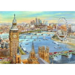The Thames at Westminster - Jim Mitchell wentworth 40st
