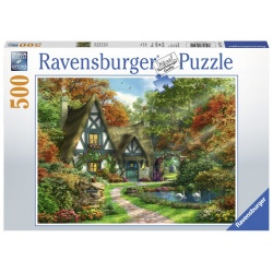 Cottage in de herfst 500stukjes Ravensburger