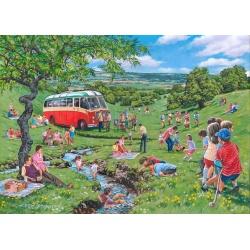 Sunday picnic, Hop Puzzels 250st XL stukken