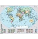 Staatkundige Wereldkaart 1000stukjes Ravensburger