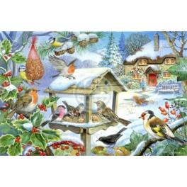 Feed the Birds, Hop Puzzels 250st XL stukken