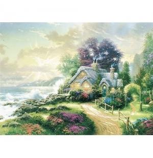 Het huis aan zee Thomas Kinkade 1000stukjes