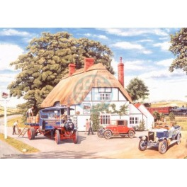 House of Puzzles. 500stukjes Alles unieke stukken.  The Railway Inn  The Favourites collection