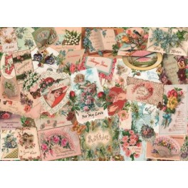 """House of Puzzles. 500stukjes Large   Say it with Flowers """" The Grange Collection"""