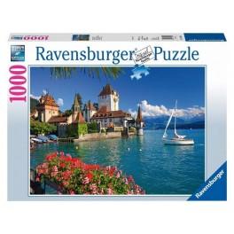 Aan het meer van Thun 1000stukjes Ravensburger