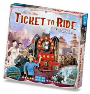 Ticket to ride ASIA