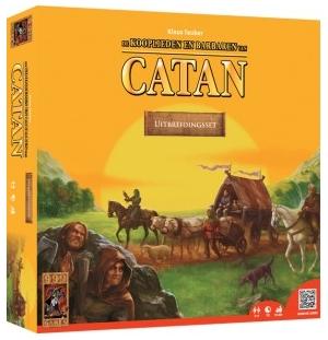 999-Games  Kolonisten van Catan  Kooplieden en Barbaren Uitbreiding set  3/4 spelers