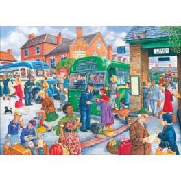 """House of Puzzles  500 stukjes   """" Bus Station """""""
