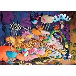 Tarzan Mordillo, Heye Puzzel 1000stukjes
