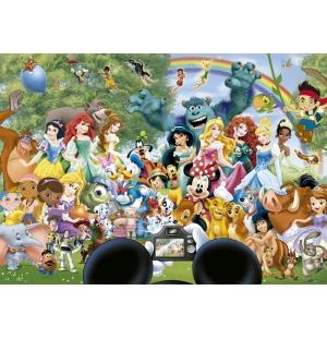 De Wereld van Disney II Educa puzzel 1000stukjes