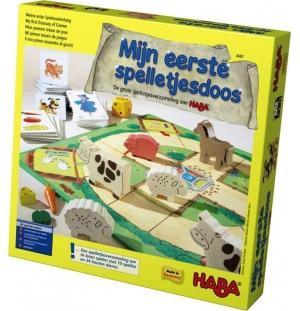 Mijn eerste spellen doos Haba spellen