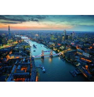 Londen bij nacht , Piatnik puzzel 1000stukjes