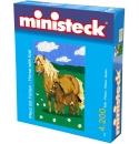 Ministeck Pony  met veulen  3500st