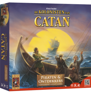 Kolonisten van Catan Piraten en Ontddekkers 999 games