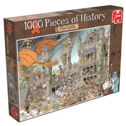 Het Kasteel, Pieces of History   1000stukjes  jumbo