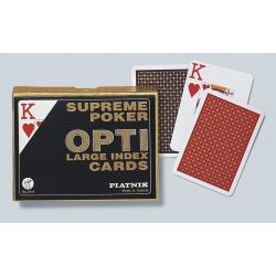Poker speelkaarten optie