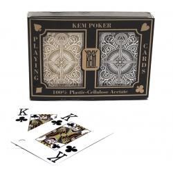 Poker speelkaarten KEM Gold