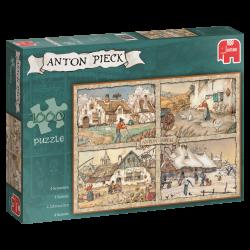 De vier  Seizoenen , Anton Pieck   1000stukjes  jumbo