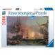 Ravensburger 3000stukjes  Bombardement van Algiers  afm. 121*80cm