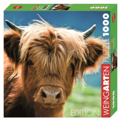 Highland Cow, Heye Puzzel 1000stukjes
