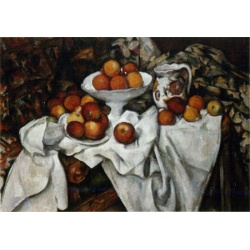 Still Live with fruit D-Toys 1000stukjes  Paul Cezanne