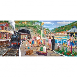 Seaside  Train, Gibsons puzzel 636st
