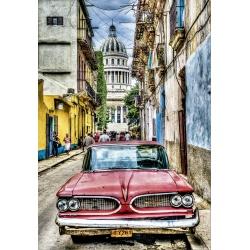 Vintage car in Havana, Educa 1000stukjes