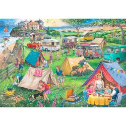 Camping, The House of Puzzles 1000stukjes
