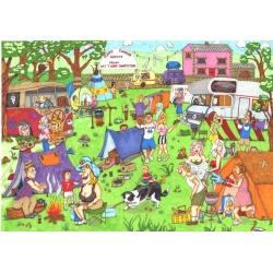 Happy Campers, House of Puzzles 1000stukjes