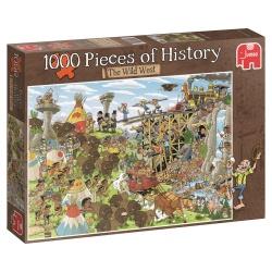 Het Wilde Westen, Pieces of History   1000stukjes  jumbo
