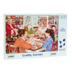 Crafty Corner , House of Puzzles 1000stukjes