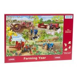 Farming Year , House of Puzzles 1000stukjes