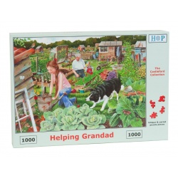 Helping Grandad, House of Puzzles 1000stukjes