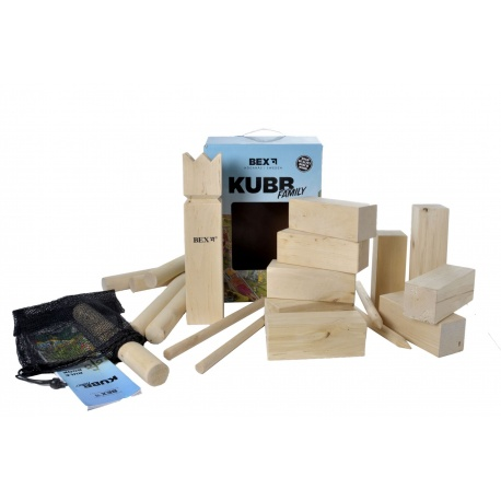 Kubb Bex berken, family edition