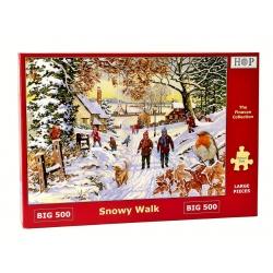 Snowy Walk, Hop Puzzels 500 XL stukken